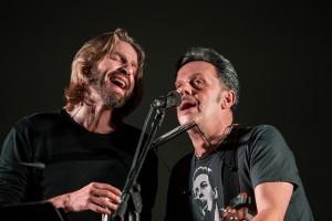 Ricky Bizzarro e Giulio Casale