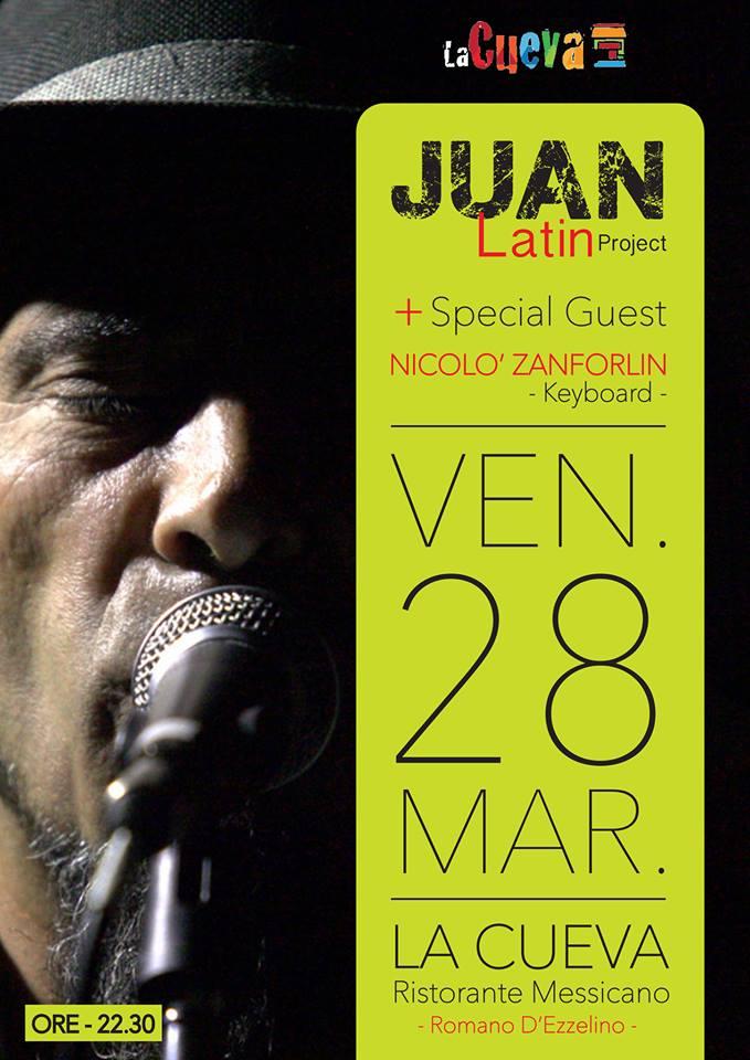 Juan Latin Project @ La Cueva