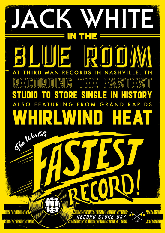 Jack White - World's Fastest Record