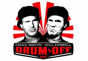 Drum-off Chad Smith Will Ferrell
