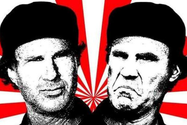 chad smith will ferrell drum off