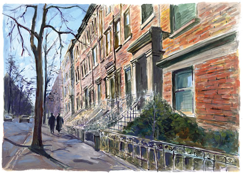 brooklyn heights Bob Dylan