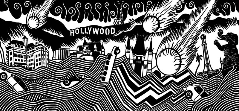 Lost Angeles Stanley Donwood
